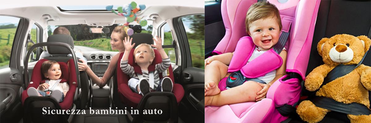Fai viaggiare sicuri i tuoi bambini!