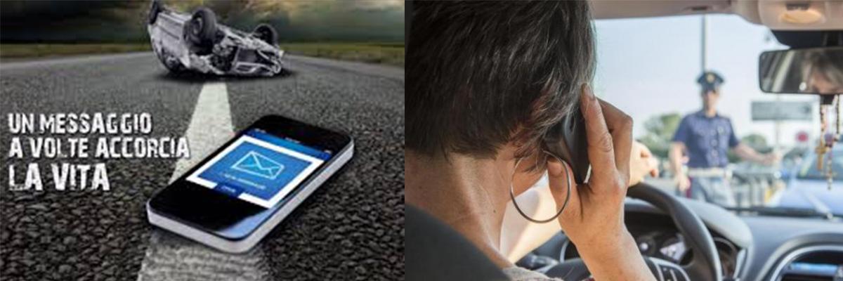 """Cellulare alla guida:  in arrivo la """"linea dura"""", ritiro immediato della patente e multe salatissime!"""