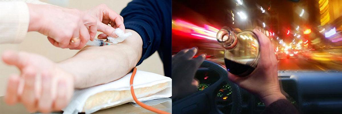 Guida in stato ebbrezza: ci si può rifiutare di sottoporsi ad esame del sangue?