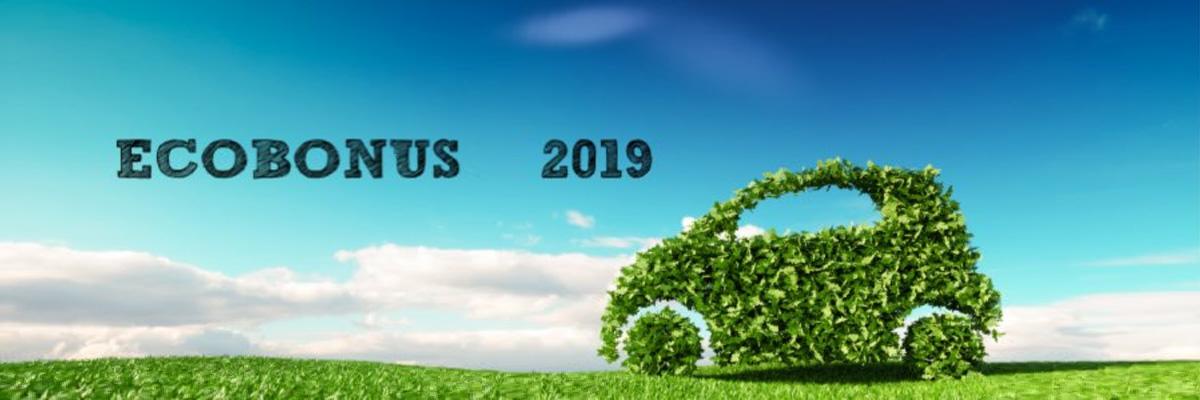 Ecobonus 2019: incentivi su acquisto nuove auto